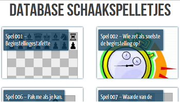 Database Schaakspelletjes